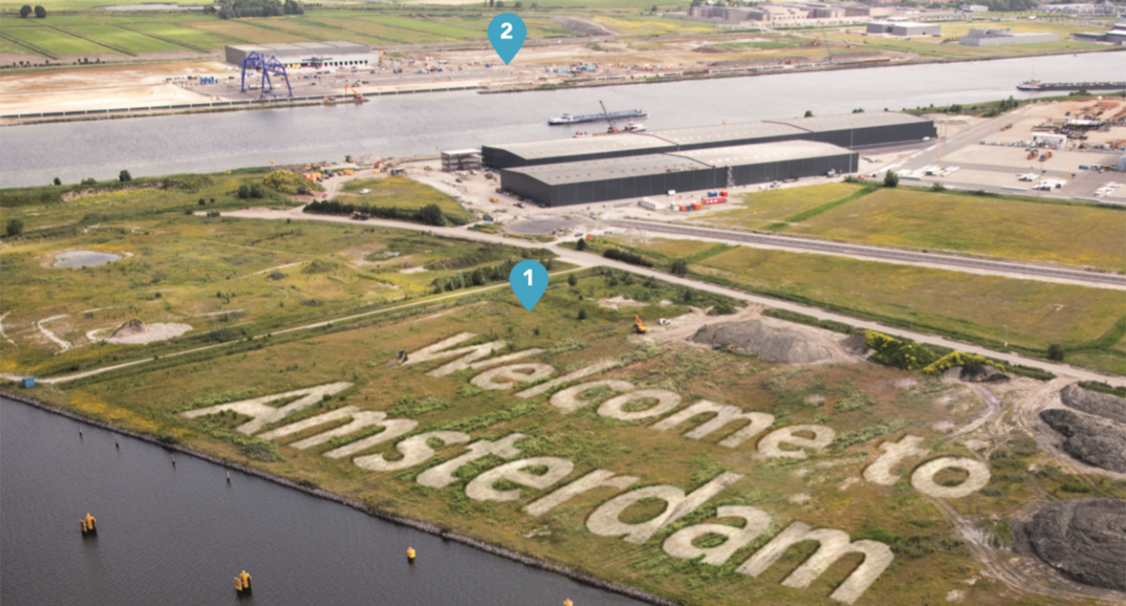 Beschikbare ruimte port of amsterdam