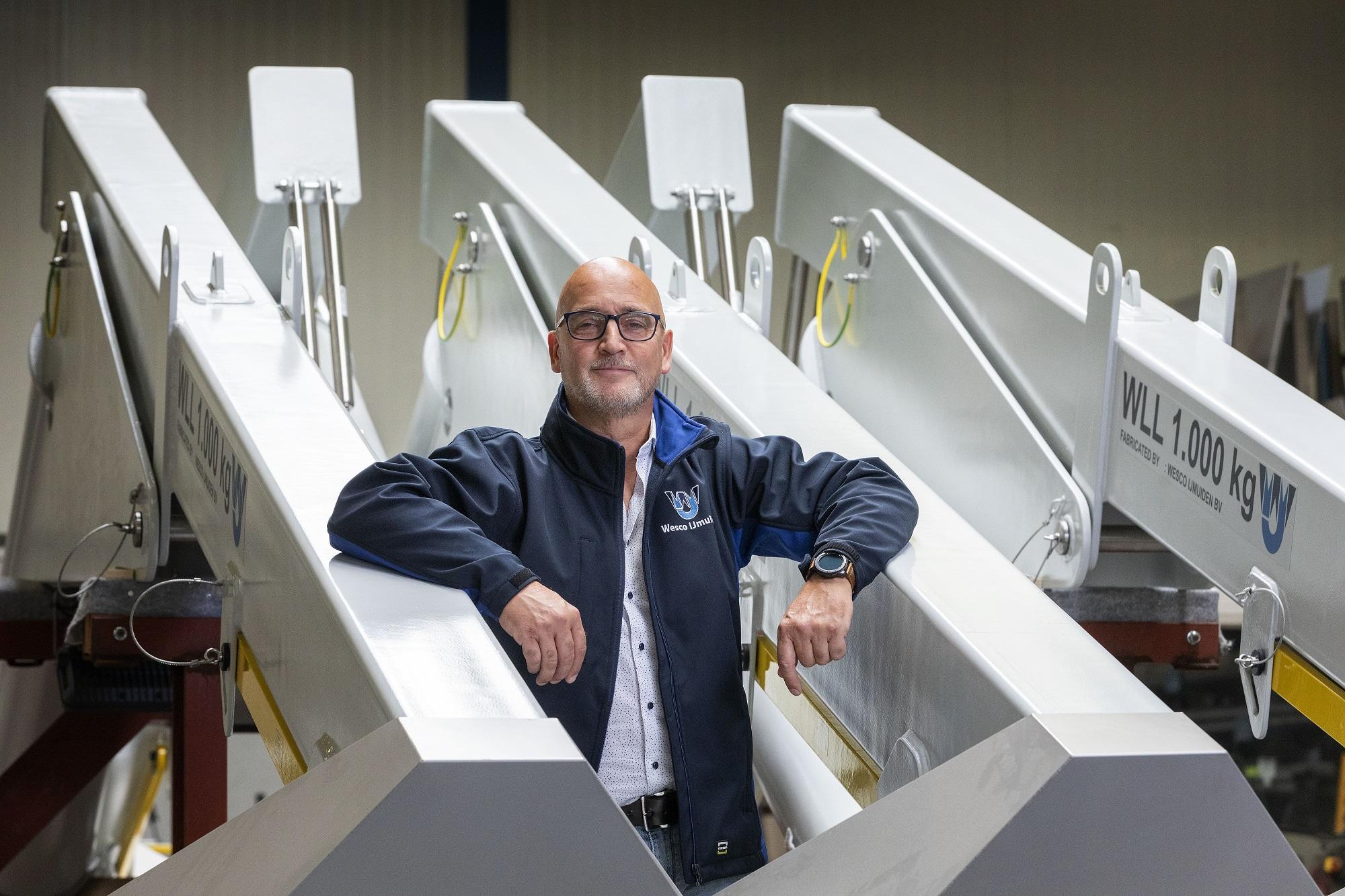 Bert Korbeeck, Algemeen directeur Wesco IJmuiden