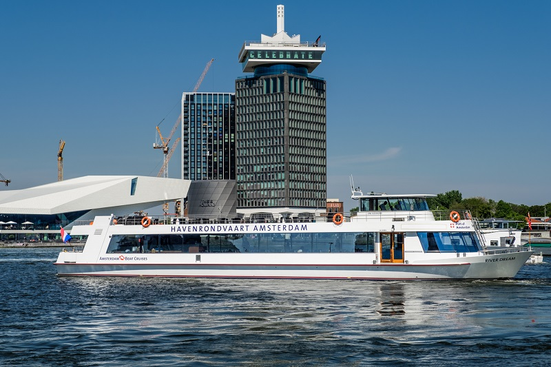 schip havenrondvaart amsterdam