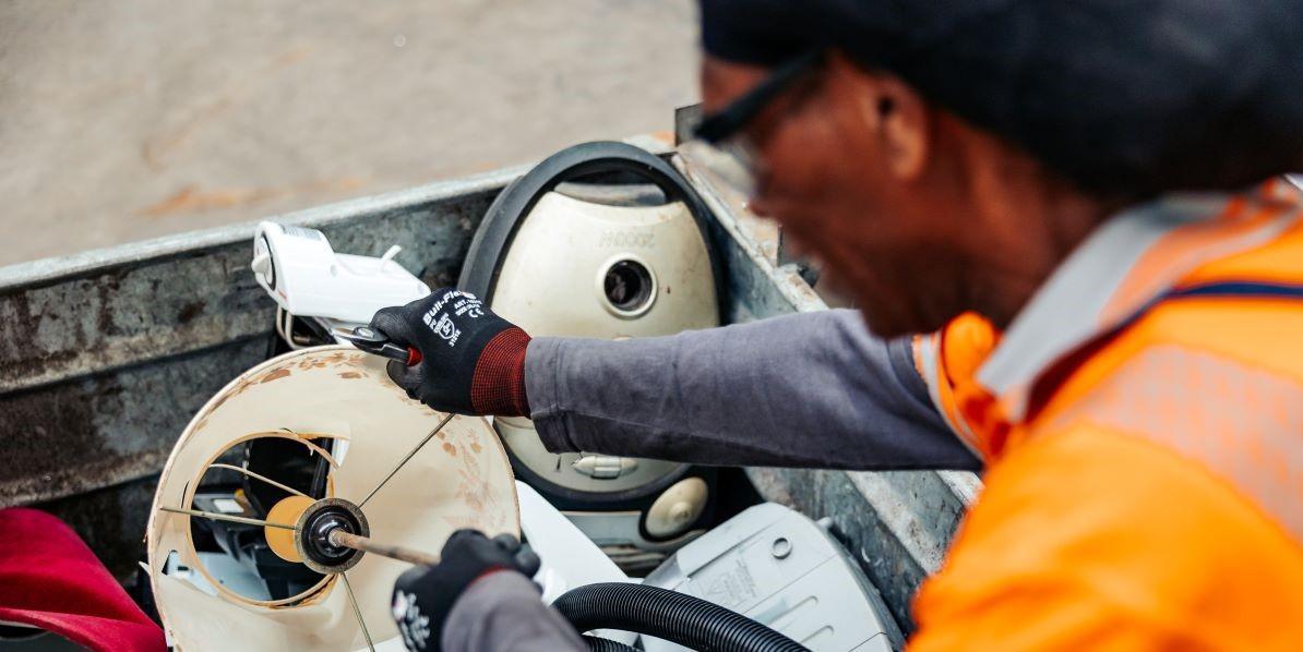 recycling en werkgelegenheid