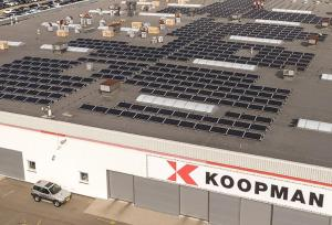 Zonnepanelen in de Amsterdamse haven
