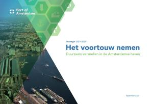 strategie port of amsterdam 2021 - 2025