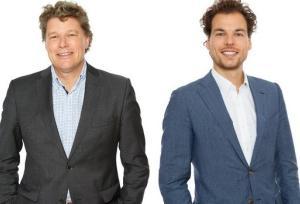 Koen Overtoom en Alexander Kousbroek