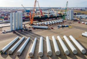 Windturbines bij TMA Logistics