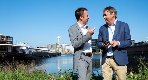 Contact met Port of Amsterdam