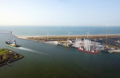 Graphic nieuwe Energiehaven
