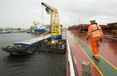 Overslagcijfers Amsterdamse Haven