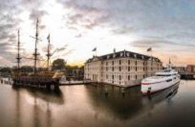 forever one superjachten bij het scheepvaartmuseum Amsterdam