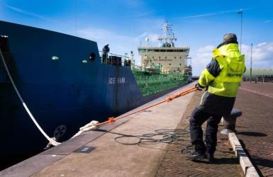 Overslag eerste halfjaar Amsterdamse havens