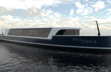 Neo Orbis waterstofschip haven amsterdam