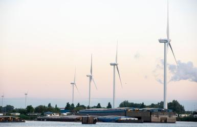 Windmolens havengebied